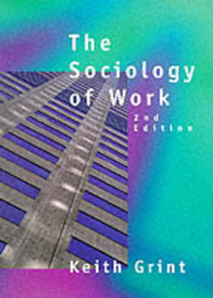 Cover of Sociology of Work