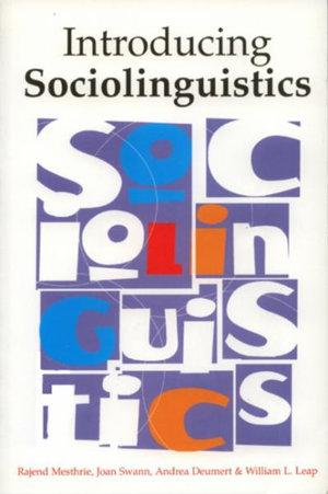 Cover of Introducing sociolinguistics