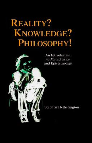 Cover of Reality? Knowledge? Philosophy!