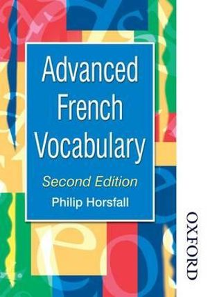 Cover of Advanced French Vocabulary