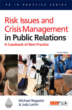 Cover of Risk Issues and Crisis Management in Public Relations 4/e