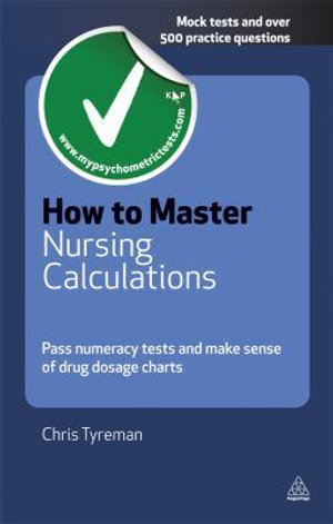 Cover of How to Master Nursing Calculations