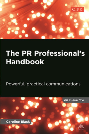 Cover of The PR Professional's Handbook