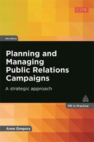 Cover of Planning and Managing Public Relations Campaigns