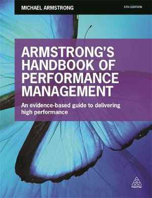 Cover of Armstrong's Handbook of Performance Management