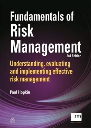 Cover of Fundamentals of Risk Management