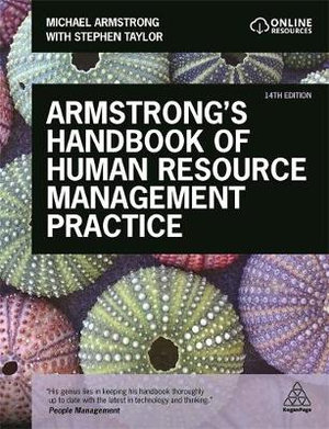 Cover of Armstrong's Handbook of Human Resource Management Practice