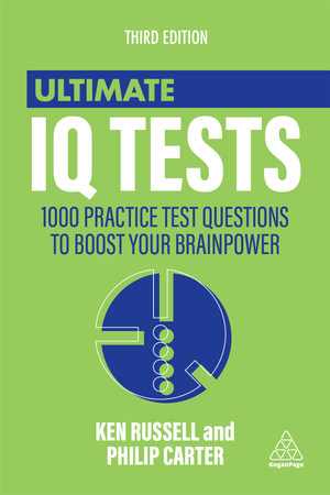 Cover of Ultimate IQ Tests