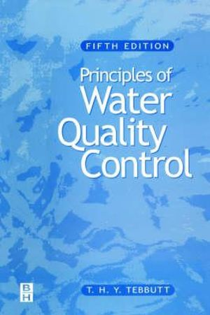 Cover of Principles of Water Quality Control