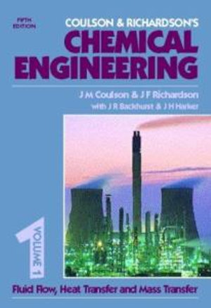 Cover of Coulson & Richardson's Chemical Engineering: Chemical Engineering Design. 3rd ed