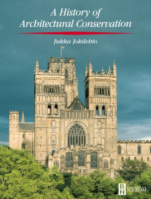Cover of A History of Architectural Conservation