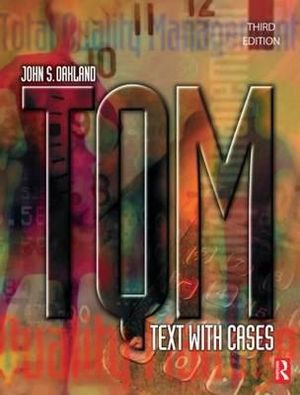 Cover of Tqm: Text with Cases