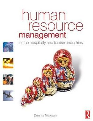 Cover of Human Resource Management for the Hospitality and Tourism Industries