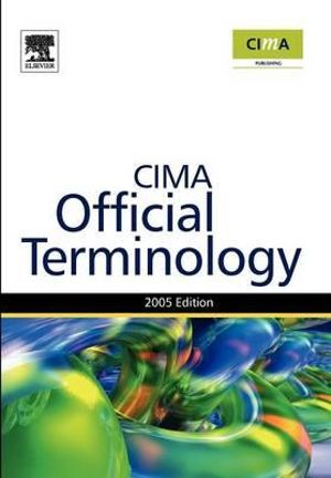 Cover of CIMA Official Terminology