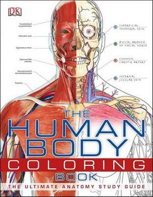 Cover of The Human Body Coloring Book