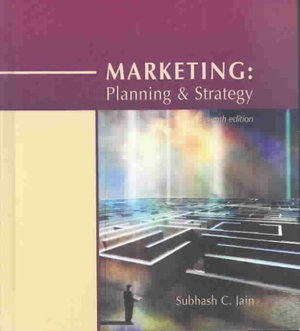 Cover of Marketing Planning & Strategy
