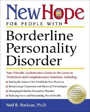 New Hope For People With Borderline Personality Disorder : New Hope - Neil R.;Villagran, Nora Elizabe Bockian