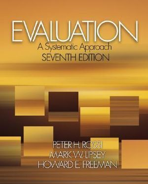 Cover of Evaluation