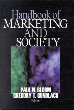 Cover of Handbook of Marketing and Society
