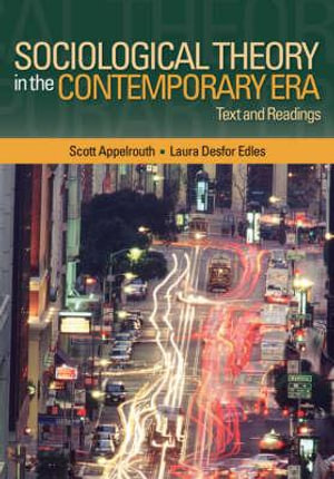 Cover of Sociological Theory in the Contemporary Era