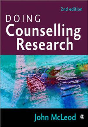 Cover of Doing Counselling Research