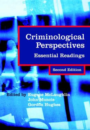 Cover of Criminological Perspectives