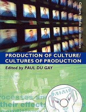 Cover of Production of Culture/Cultures of Production