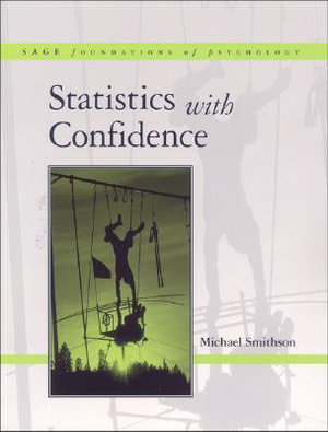 Cover of Statistics with confidence