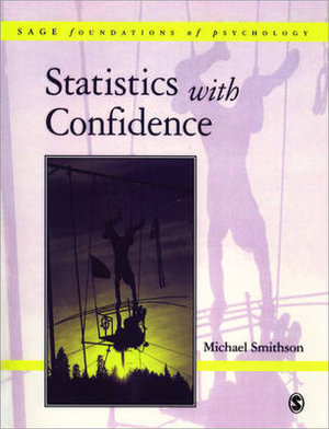 Cover of Statistics with Confidence: An Introduction for Psychologists