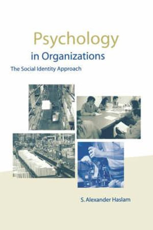 Cover of Psychology in Organizations