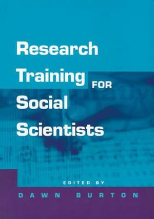 Cover of Research Training for Social Scientists