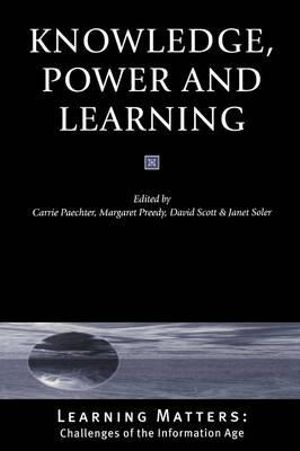 Cover of Knowledge, Power and Learning