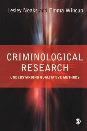 Cover of Criminological Research