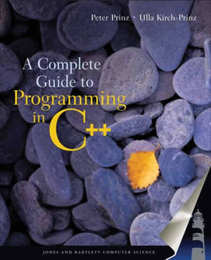 Cover of A Complete Guide to Programming in C++