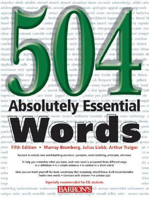 Cover of 504 Absolutely Essential Words, 5/e