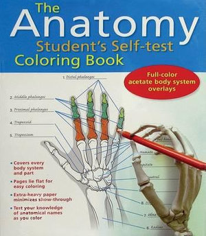 Cover of The Anatomy Student's Self-Test Coloring Book