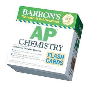 Cover of Barron's AP Chemistry