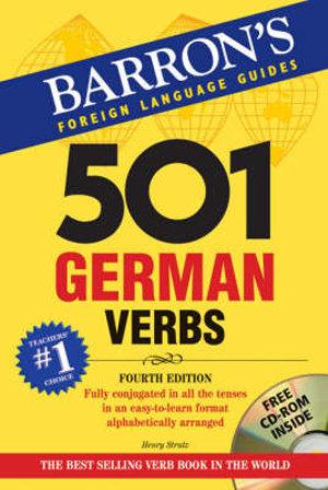 Cover of 501 German Verbs