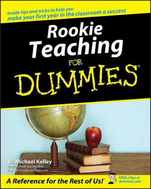 Cover of Rookie Teaching For Dummies