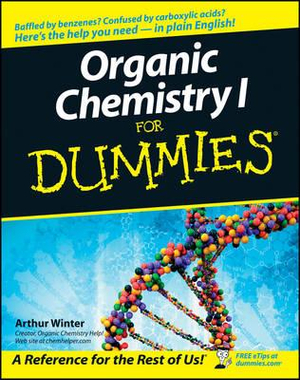 Cover of Organic Chemistry I for Dummies