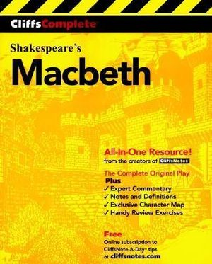 Cover of Cliffs Complete Macbeth