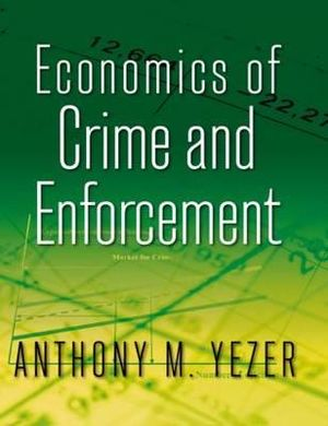 Cover of Economics of Crime and Enforcement
