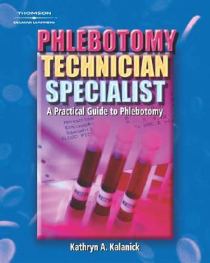 Cover of Phlebotomy Technician Specialist