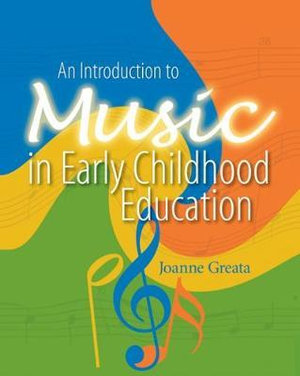 Cover of An introduction to music in early childhood education