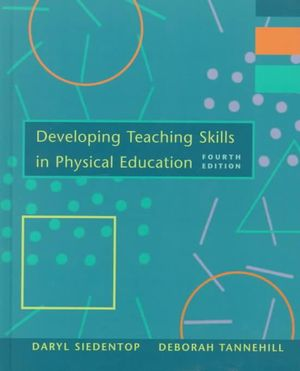 Cover of Developing Teaching Skills In Physical Education