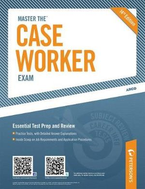 Cover of Master the Case Worker Exam