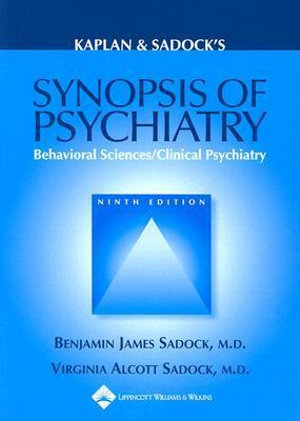 Cover of Kaplan & Sadock's Synopsis of Psychiatry
