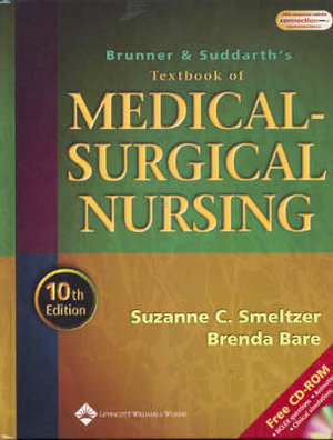 Cover of Textbook of Medical Surgical Nursing
