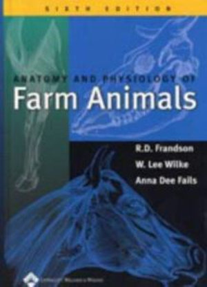 Cover of Anatomy and Physiology of Farm Animals