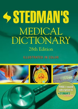 Cover of Stedman's Medical Dictionary